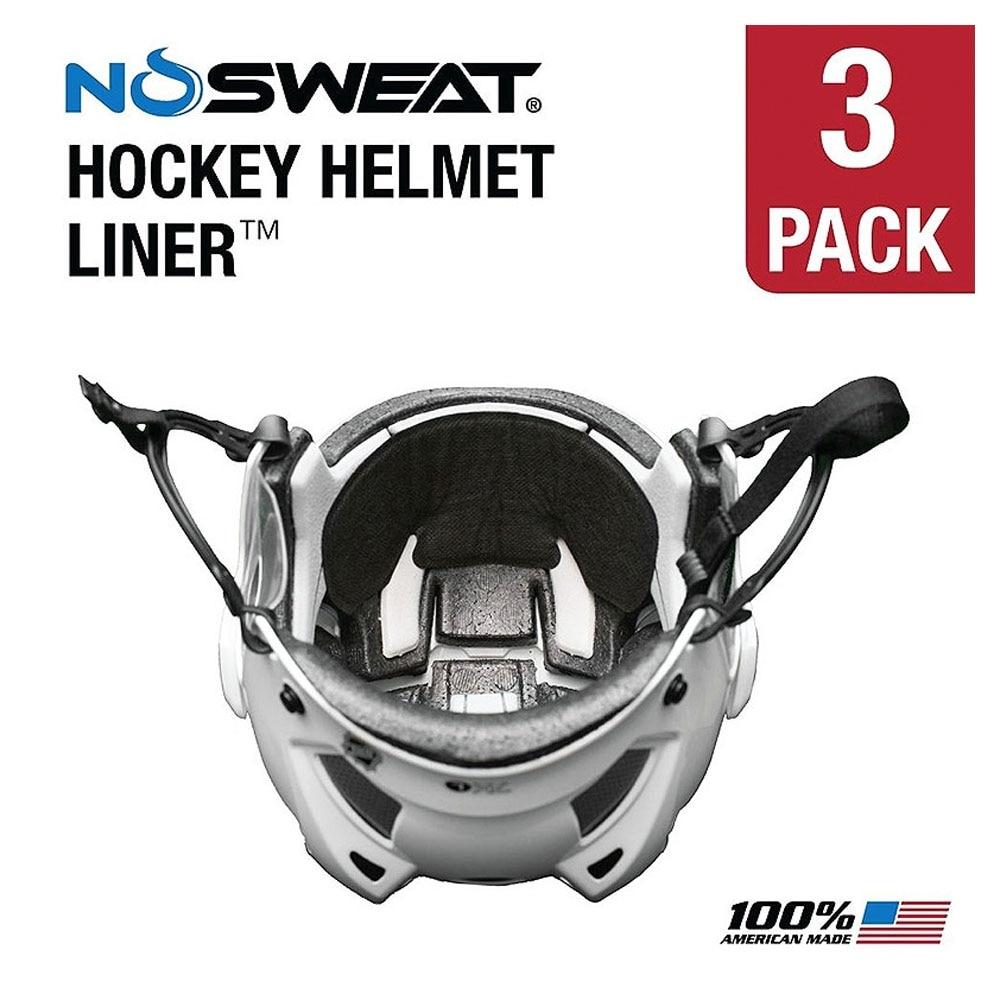 NoSweat Hjelminnlegg Hockey 3-pack