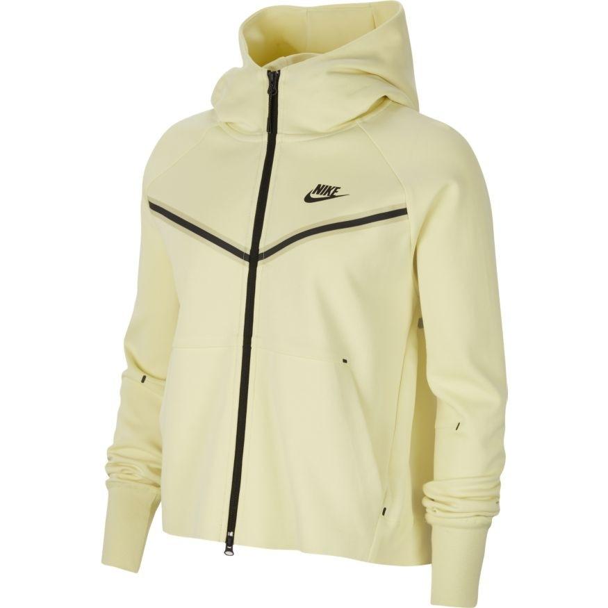 Nike Tech Fleece Windrunner Hoodie Hettegenser Dame Volt