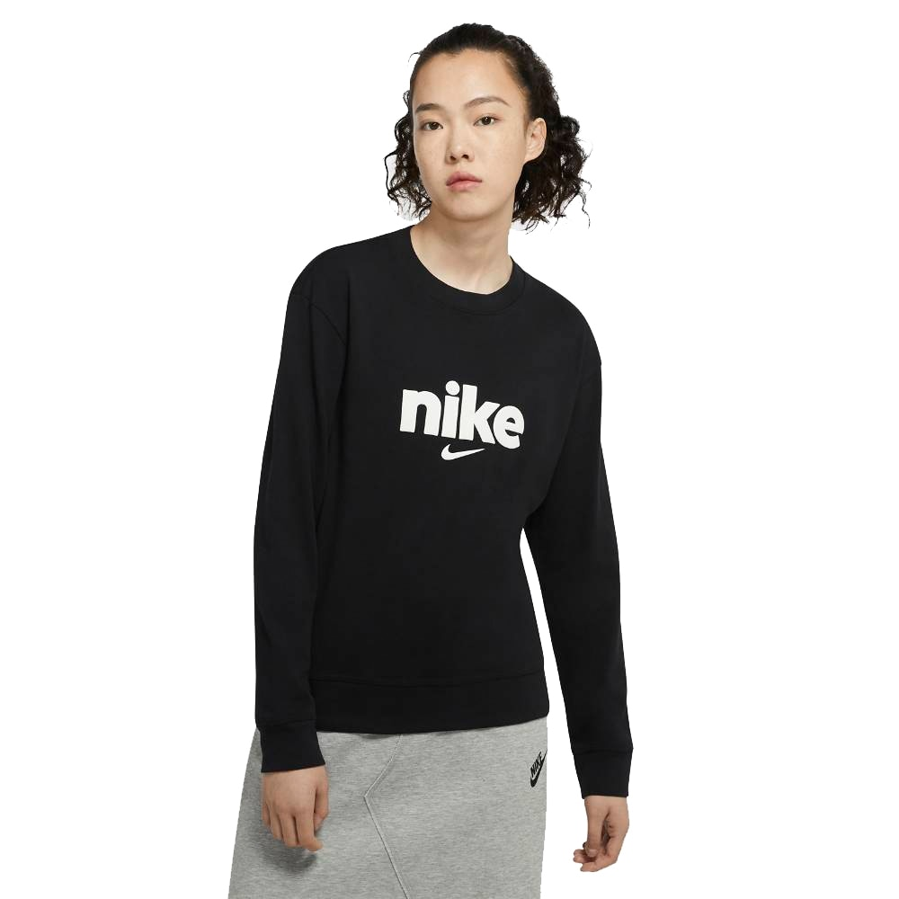Nike Varsity Crew Genser Dame Sort