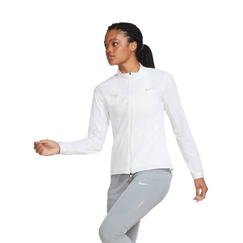 Nike Tracksuit Løpejakke Dame Hvit