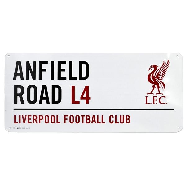 Official Product Liverpool FC Gateskilt Anfield Road