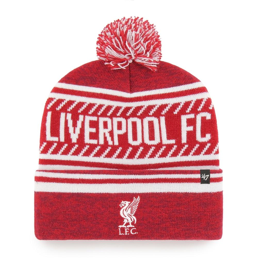 47 Liverpool FC Knit Beanie Lue Rød/Hvit