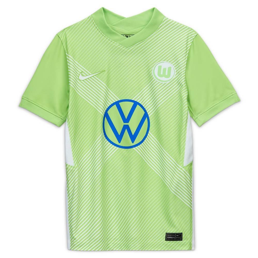 Nike VFL Wolfsburg Fotballdrakt 20/21 Hjemme