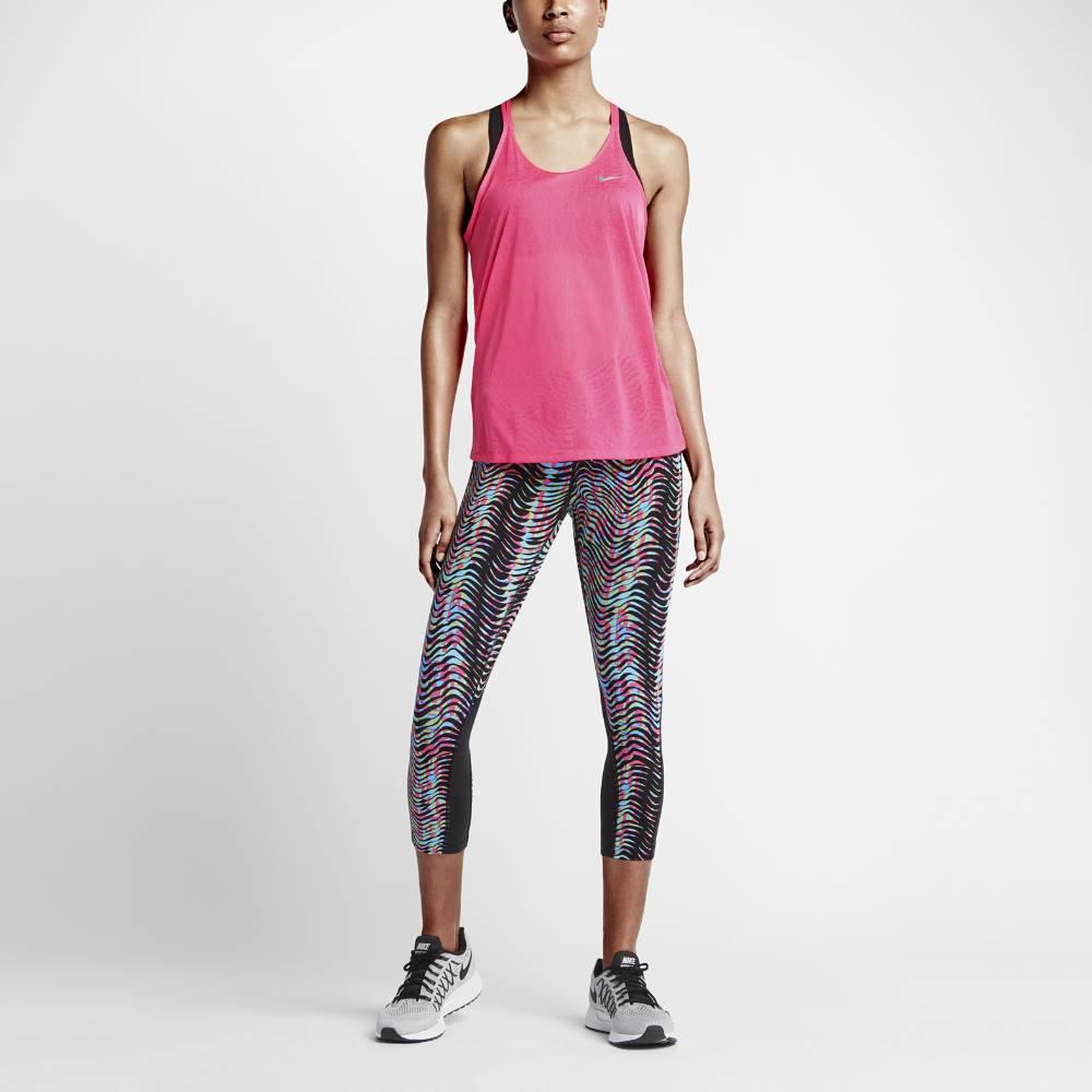 Nike Dri-FIT Cool Breeze Singlet Dame Rosa