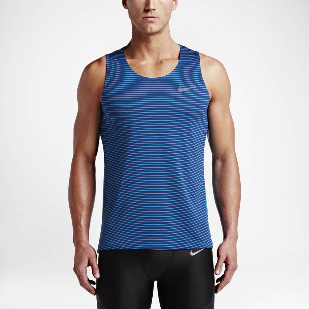 Nike Racing Løpesinglet Herre Blå