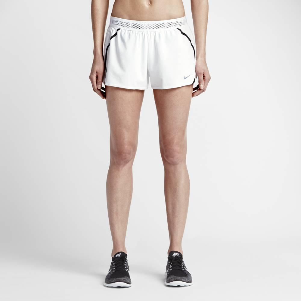 Nike Aeroswift 2inch Løpeshorts Dame Hvit