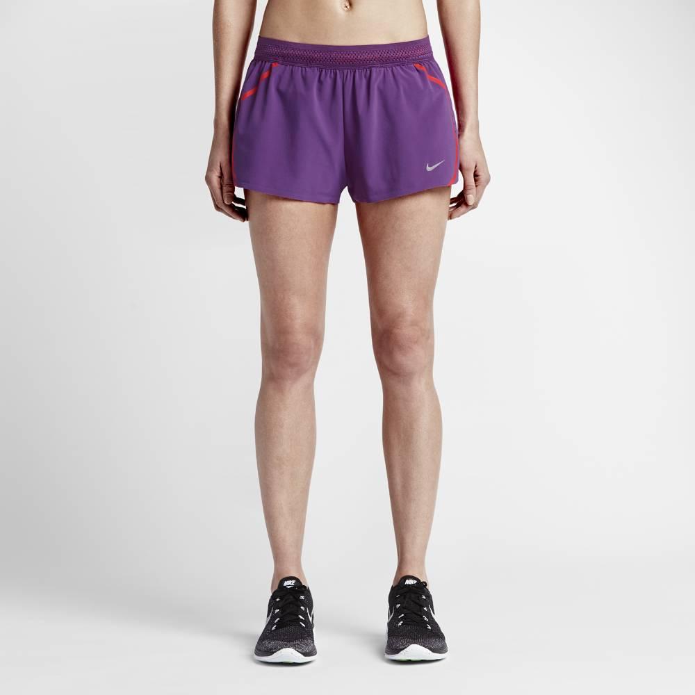 Nike Aeroswift 2inch Løpeshorts Dame Lilla