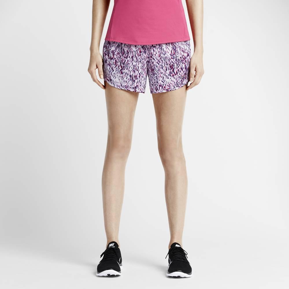 Nike Printed Tempo Løpeshorts Dame Lilla