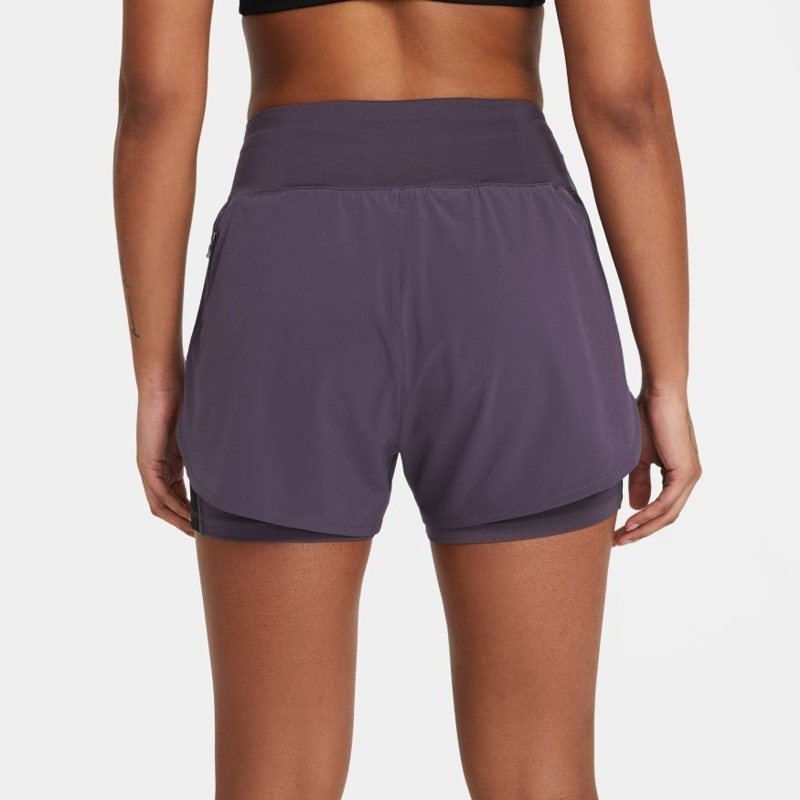 Nike Eclipse 2in1 Treningsshorts Dame Lilla