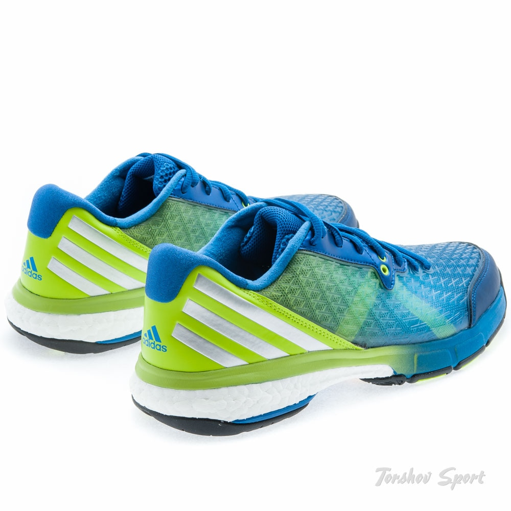 Adidas Energy Volley Boost 2.0 Hallsko Herre Grønn/Blå