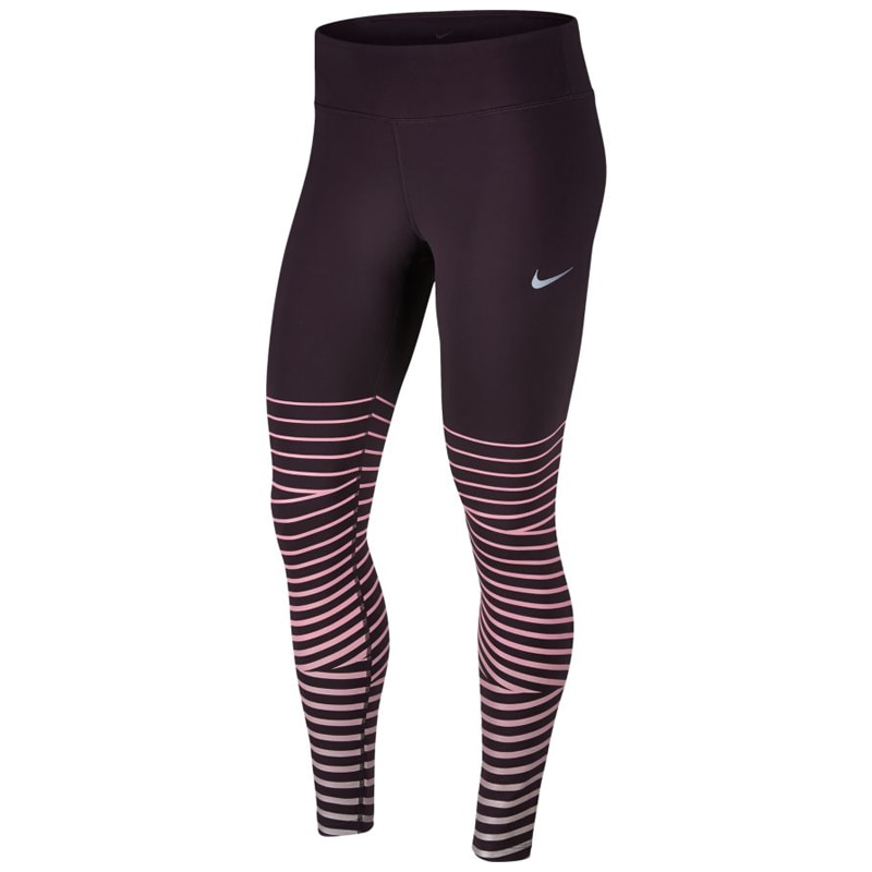 Nike Power Flash Epic Lux Løpetights Dame Lilla