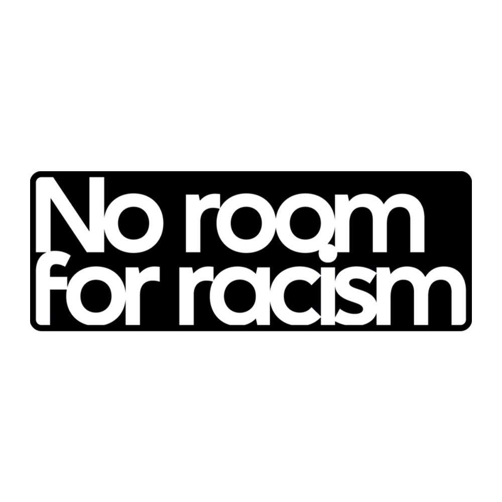 No Room For Racism-merke