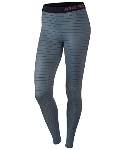 Nike Pro Hyperwarm Stripe Tights Dame Grå