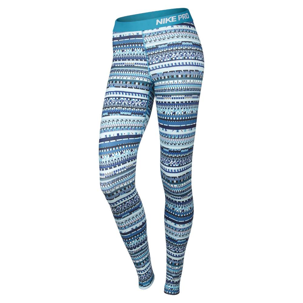 Nike Pro Warm 8 Bit Tights Dame