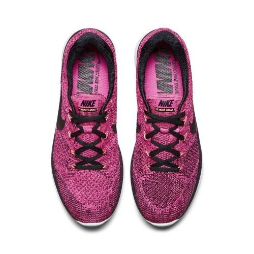 Nike Flyknit Lunar 3 Joggesko Dame