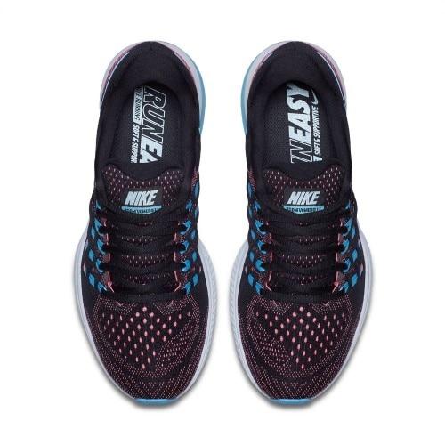 Nike Air Zoom Vomero Joggesko Dame Sort/Blå