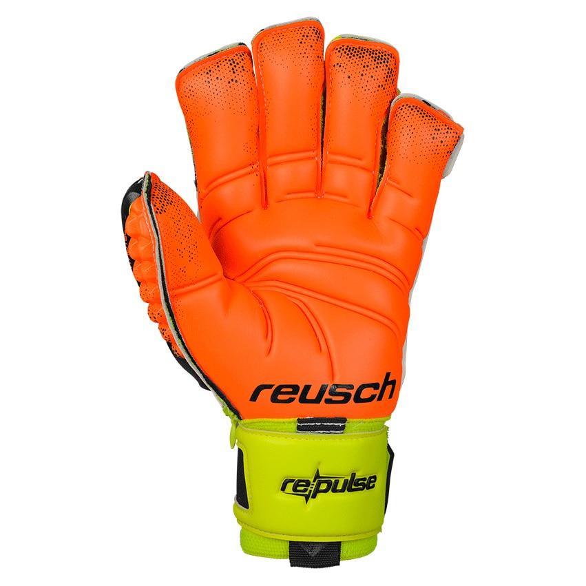 Reusch Repulse Deluxe G2 Ortho-Tec Keeperhansker Grønn/oransje/sort