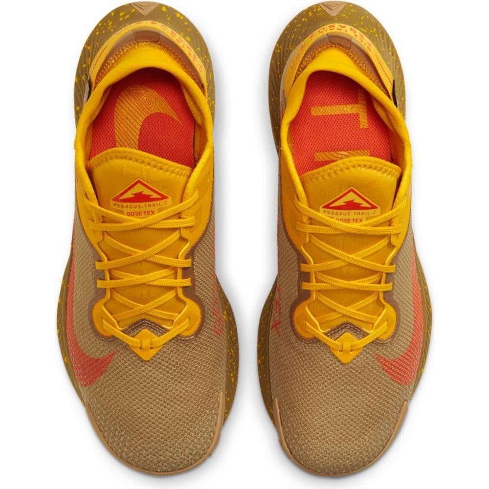 Nike Air Zoom Pegasus Trail 2 GoreTex Joggesko Herre Gul