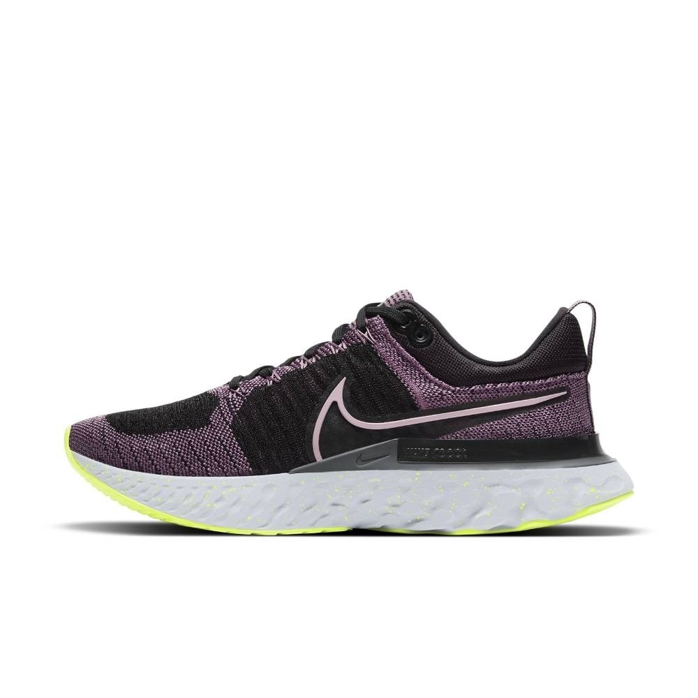 Nike React Infinity Run Flyknit 2 Joggesko Dame Lilla/Sort