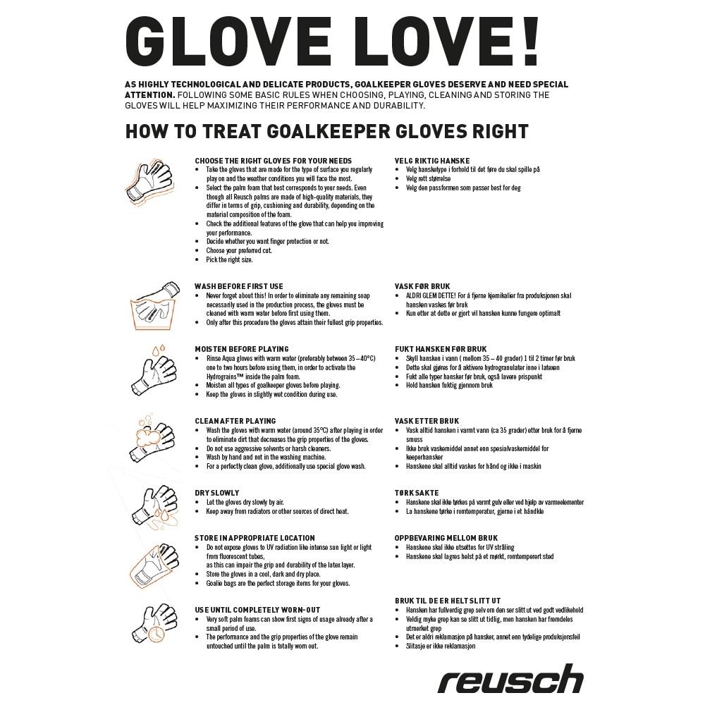 Reusch Repulse Pro G2 Negative Cut Keeperhansker Hvit/Blå