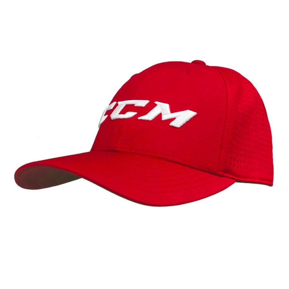 Ccm Kongsvinger Hockey Flexfit Cap Rød
