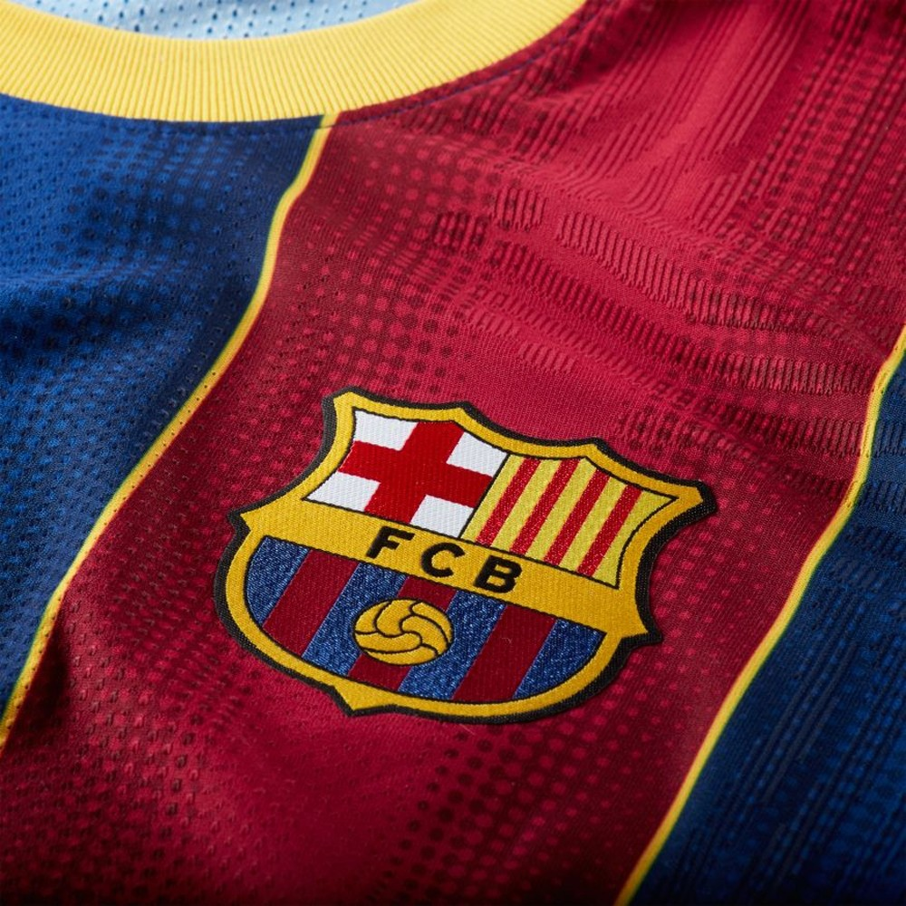 Nike FC Barcelona Vaporknit Match Fotballdrakt 20/21 Hjemme