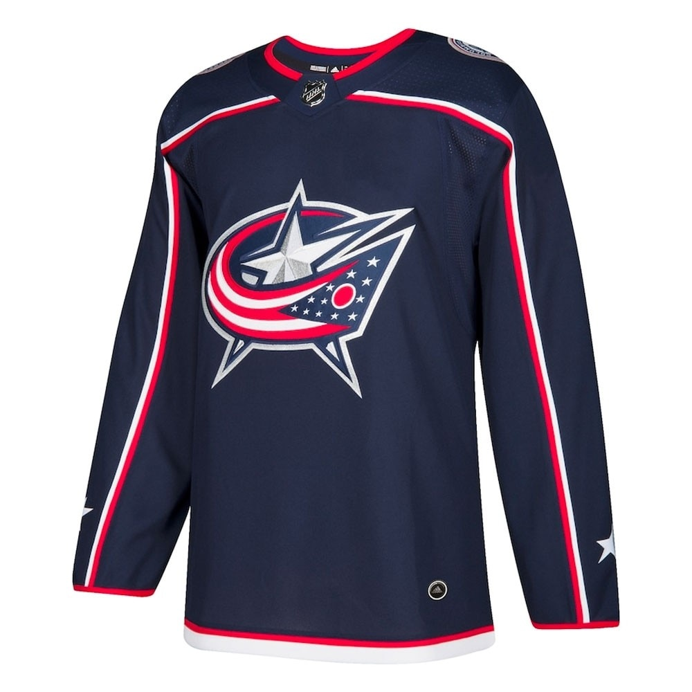 Adidas NHL Authentic Pro Hockeydrakt Columbus Blue Jackets Hjemme
