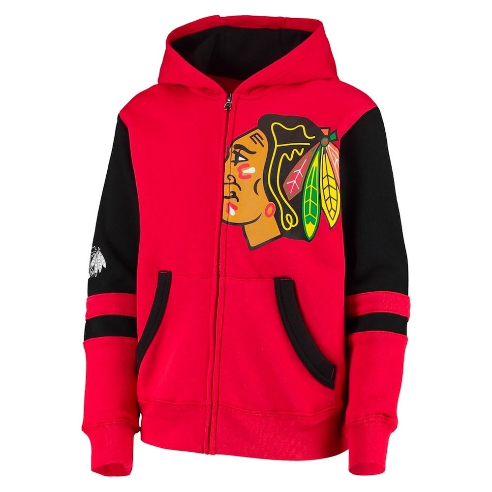 Outerstuff NHL Face off Hettegenser Barn Chicago Blackhawks