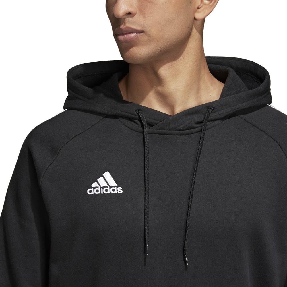 Adidas Core 18 Hettegenser Barn Sort