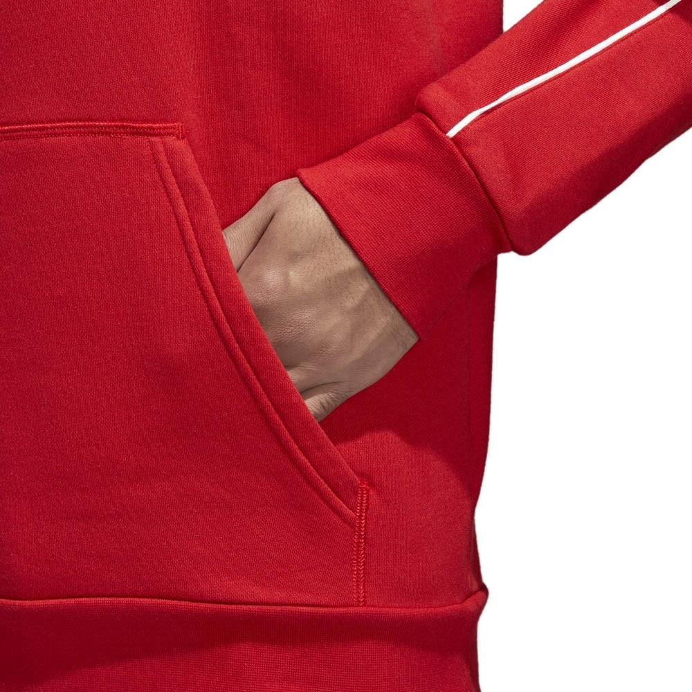 Adidas Core 18 Hettegenser Rød Barn