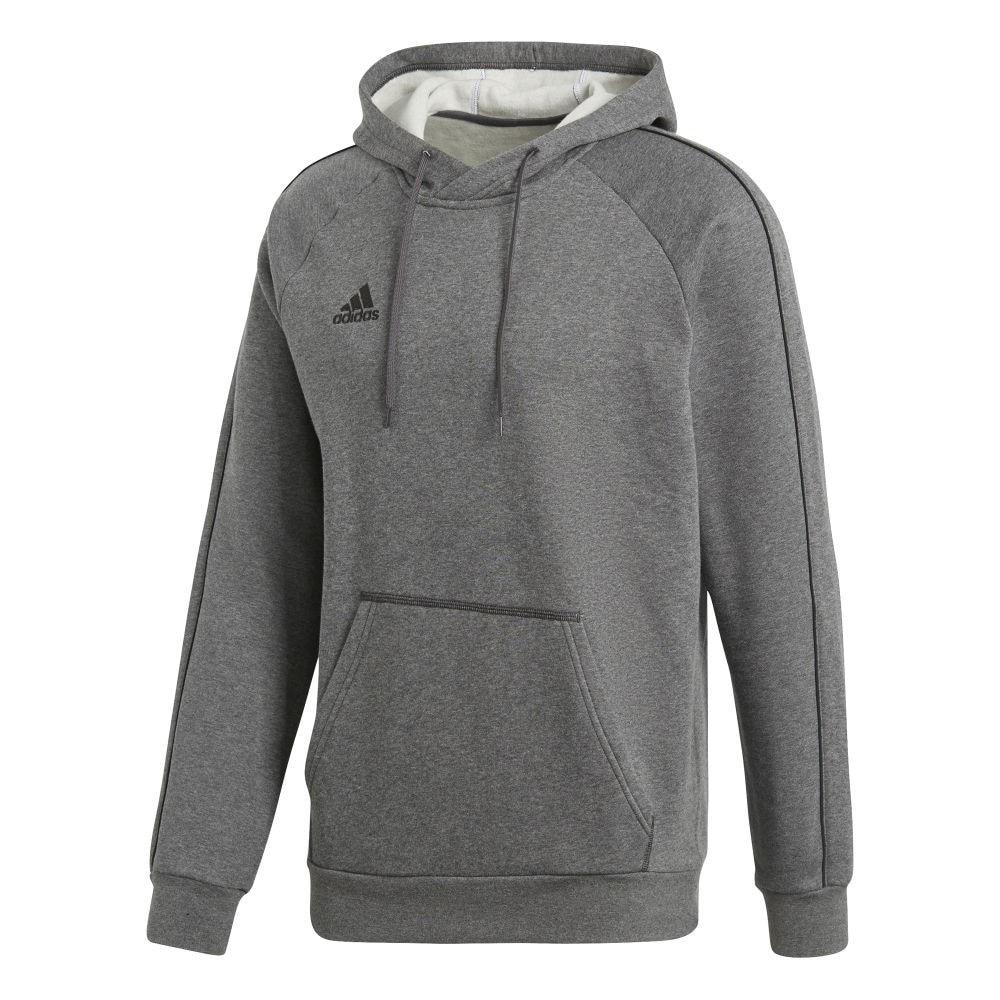 Adidas Core 18 Hettegenser Grå Barn