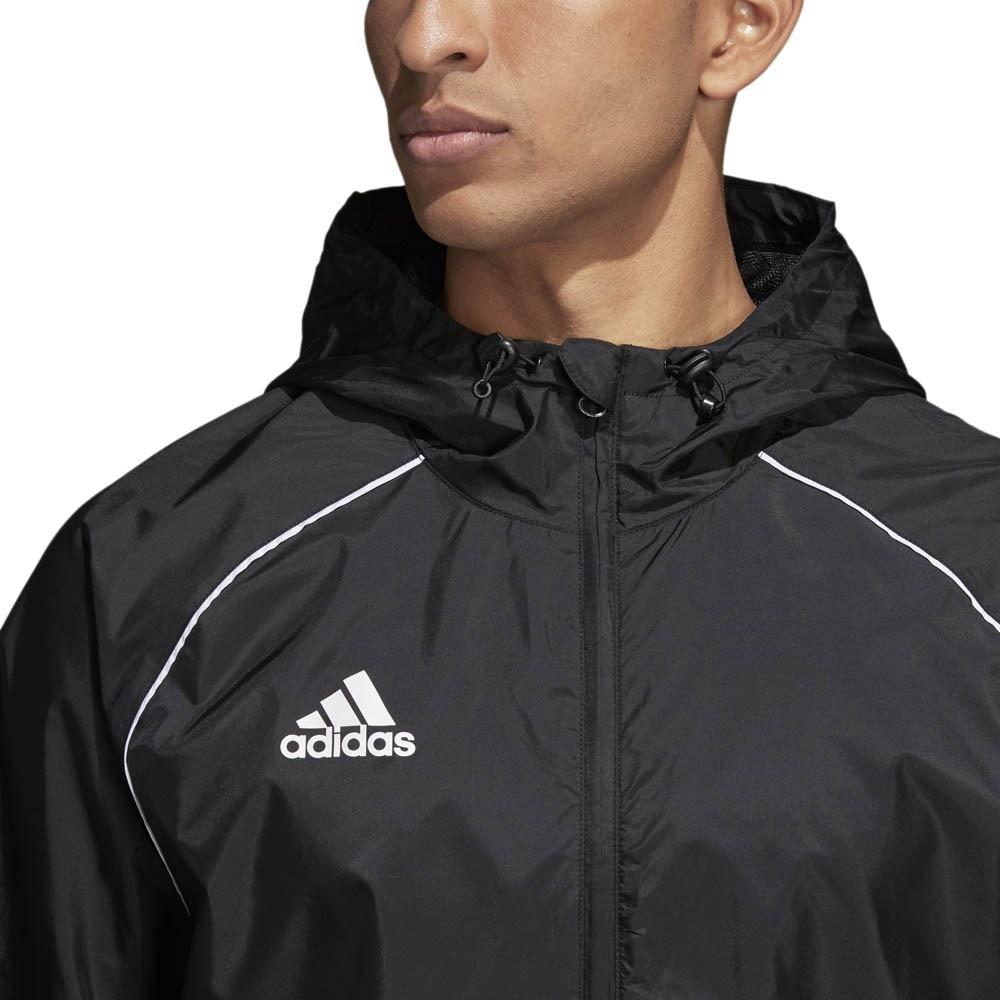 Adidas Core 18 Regnjakke Barn Sort
