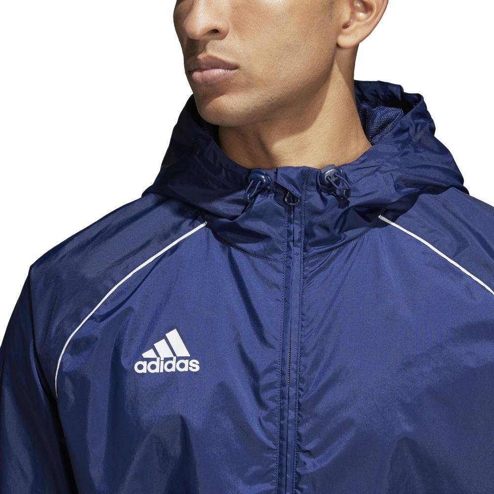 Adidas Core 18 Regnjakke Marine