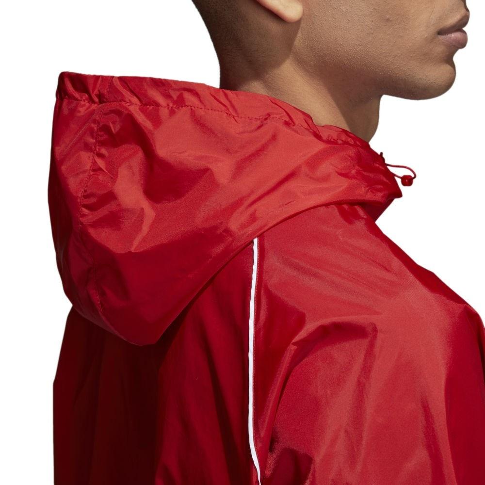 Adidas Core 18 Regnjakke Rød