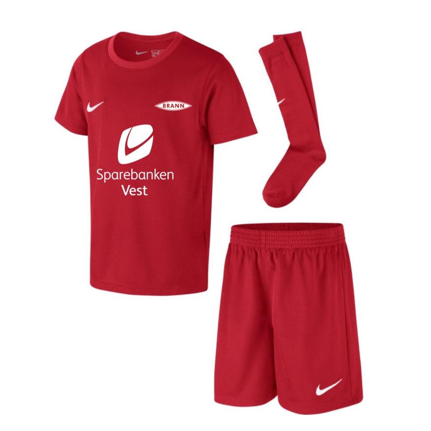 Nike SK Brann Draktsett Hjemme 2021 Barn