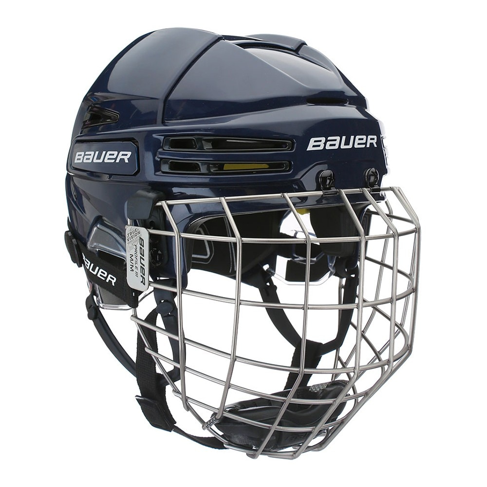 Bauer RE-AKT 75 Combo Hockeyhjelm Marine