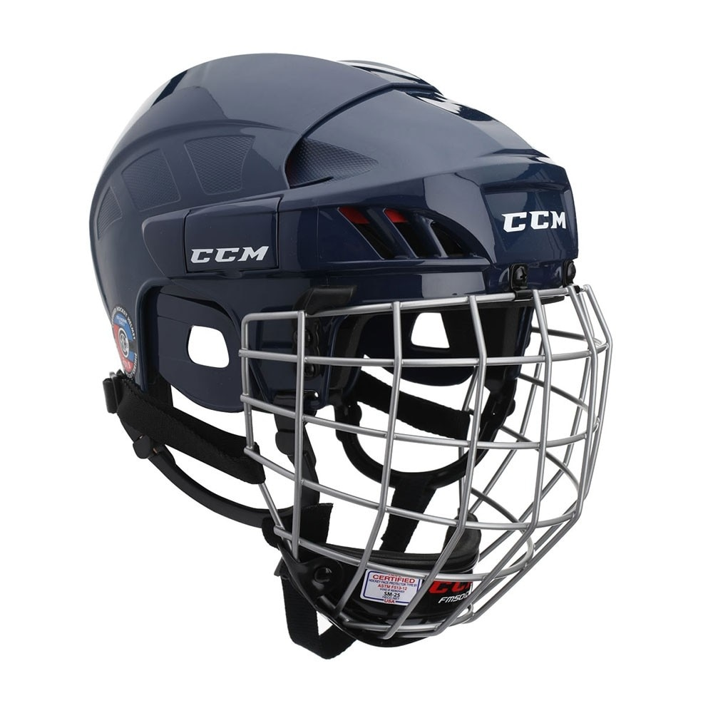 Ccm 50 Combo Hockeyhjelm Marine