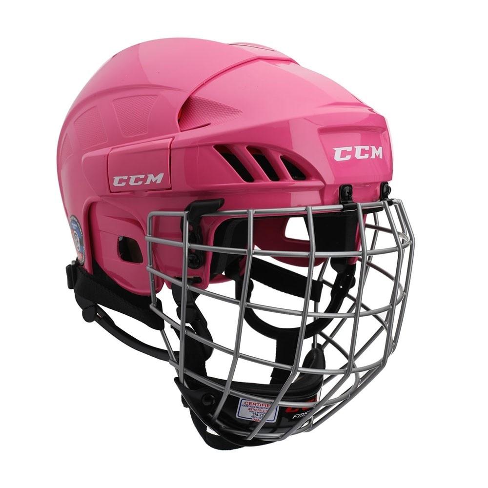 Ccm 50 Combo Hockeyhjelm Rosa