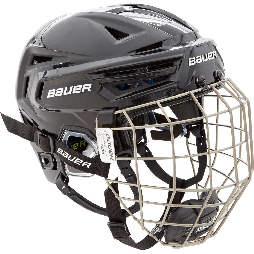 Bauer RE-AKT 150 Combo Hockeyhjelm Svart