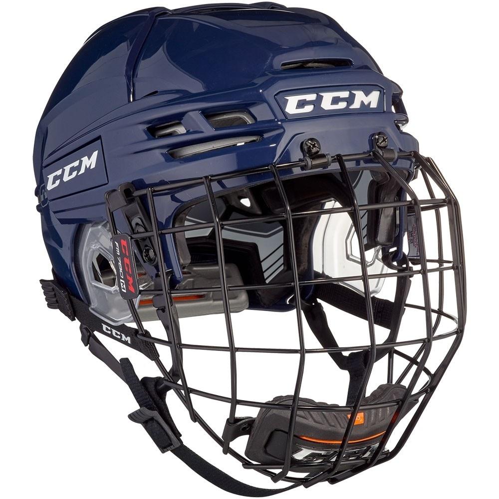 Ccm Tacks 910 Combo Hockeyhjelm Marine