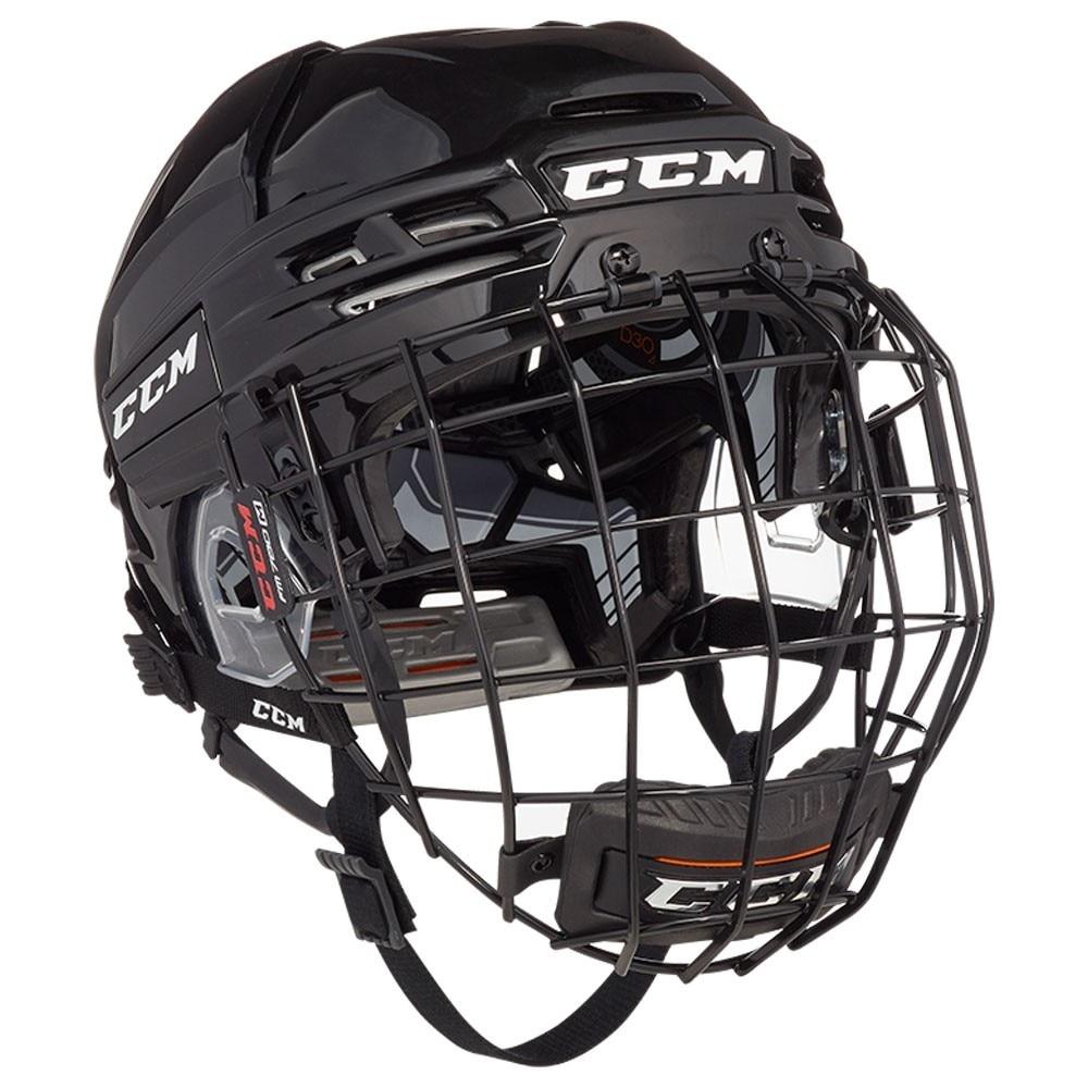 Ccm Tacks 910 Combo Hockeyhjelm Svart