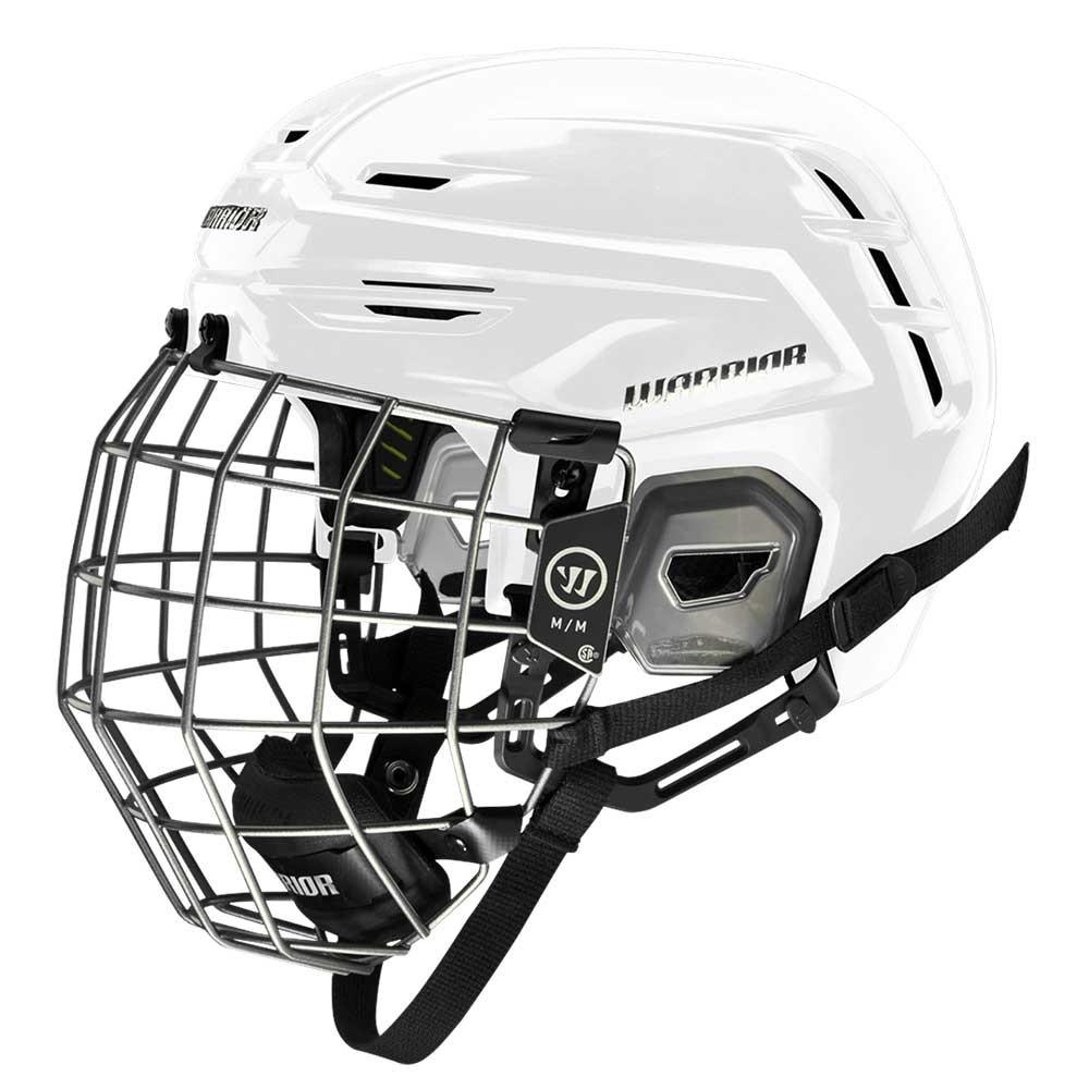Warrior Alpha One Combo Hockeyhjelm Hvit