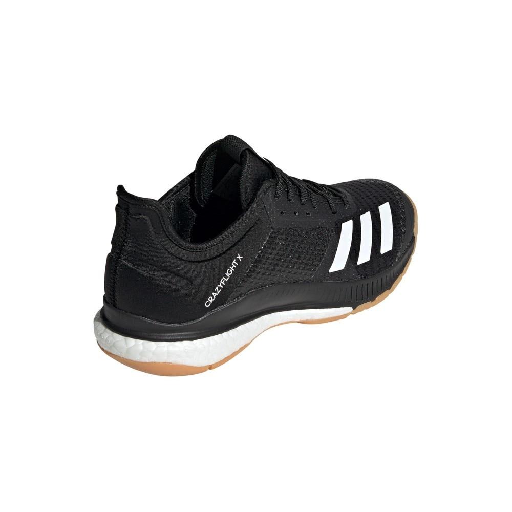 Adidas Crazyflight X 3 Hallsko Svart