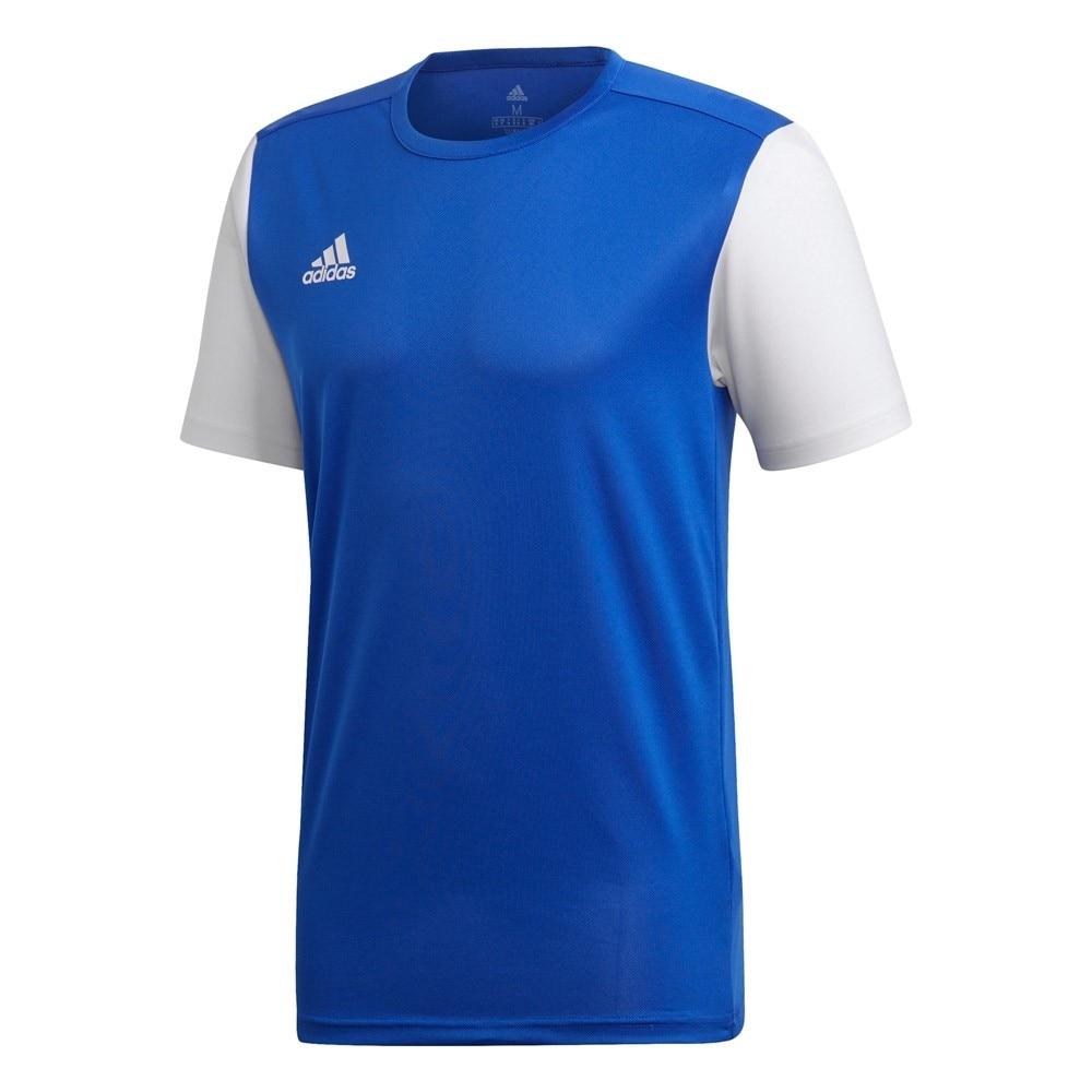 Adidas Estro 19 Kortermet Spillertrøye Blå/Hvit