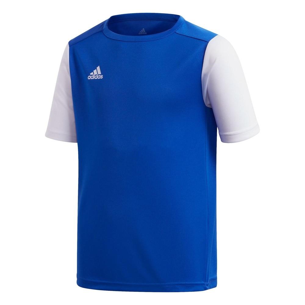 Adidas Estro 19 Kortermet Spillertrøye Blå/Hvit Barn