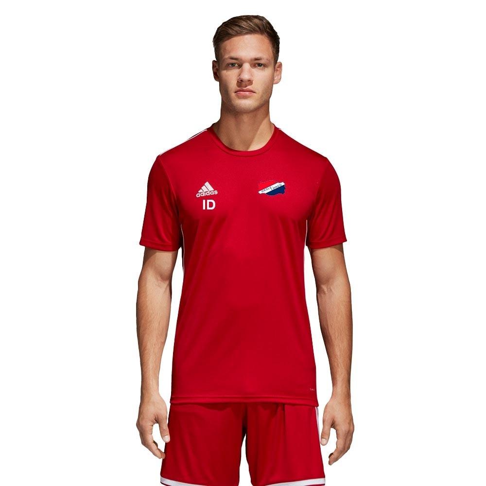 Adidas Hasle Løren Fotball Treningstrøye Barn Rød