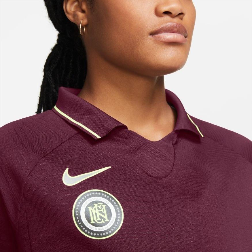 Nike FC Langermet Trøye Dame Burgunder