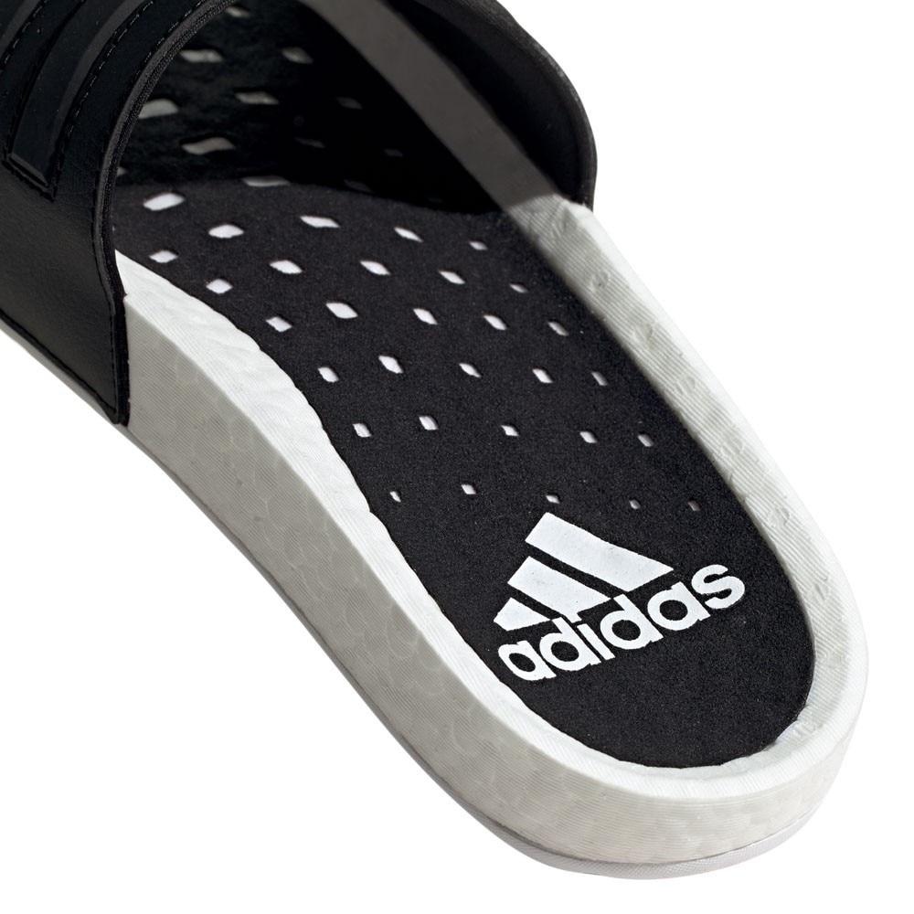 Adidas Adilette BOOST Slippers Hvit/Sort