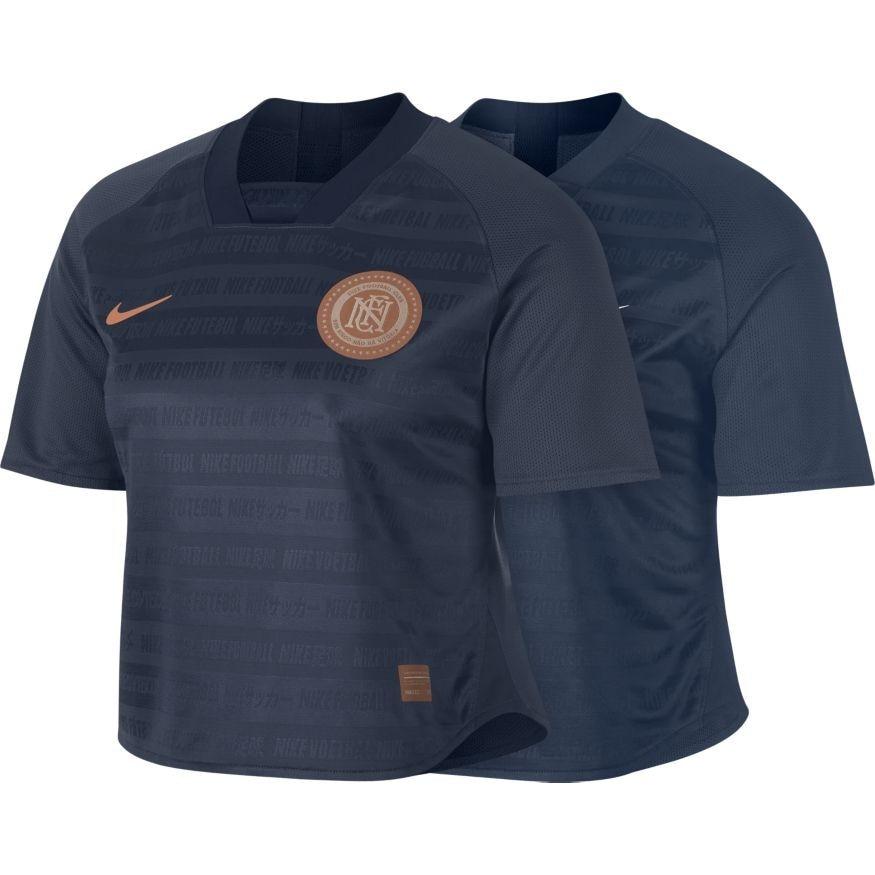 Nike FC Dry Treningstopp Dame Marine