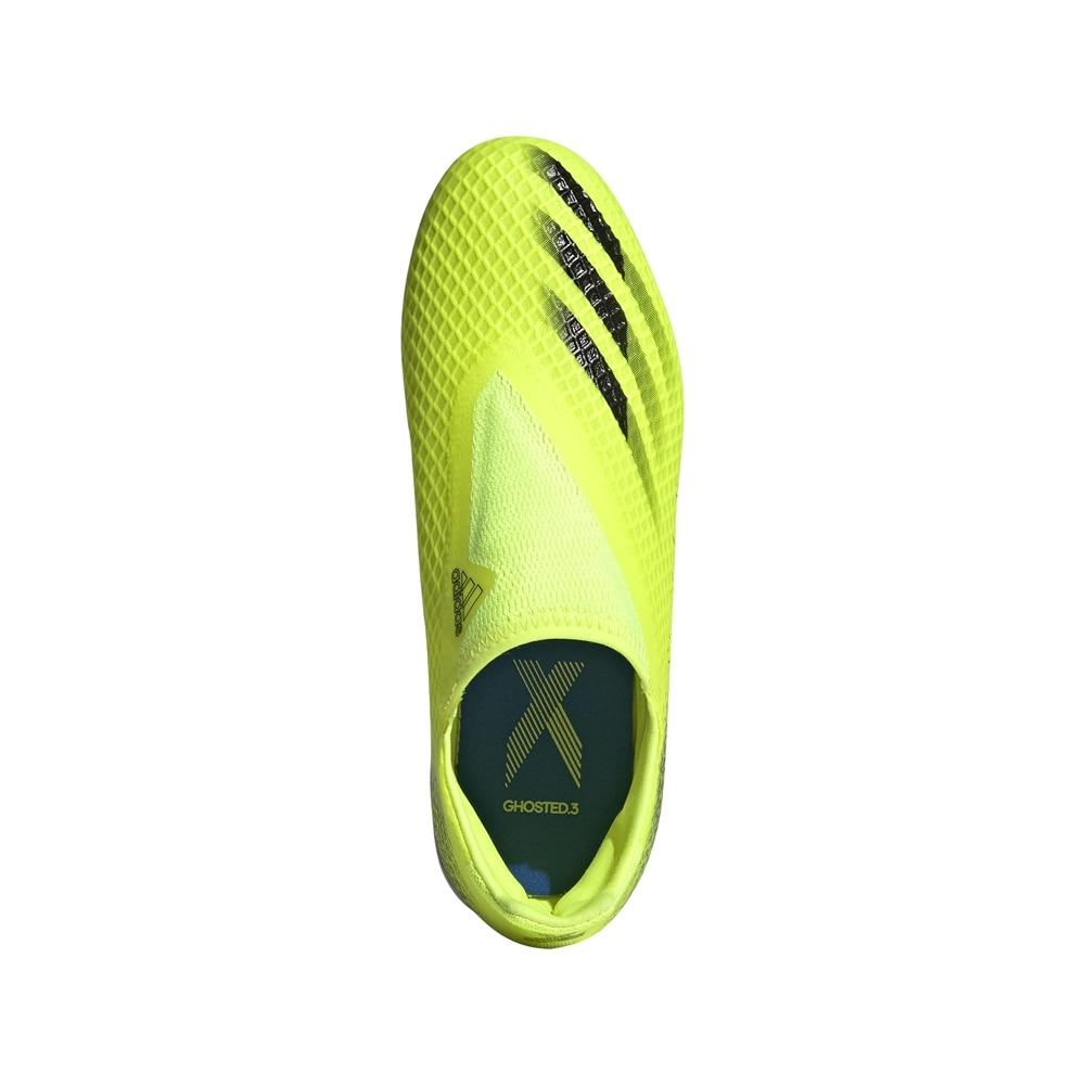 Adidas X Ghosted.3 Laceless FG/AG Fotballsko Barn Superlative Pack